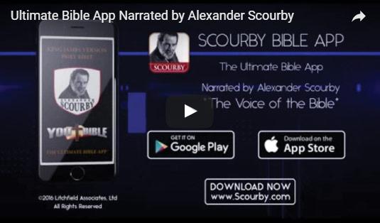 youtube bible app video