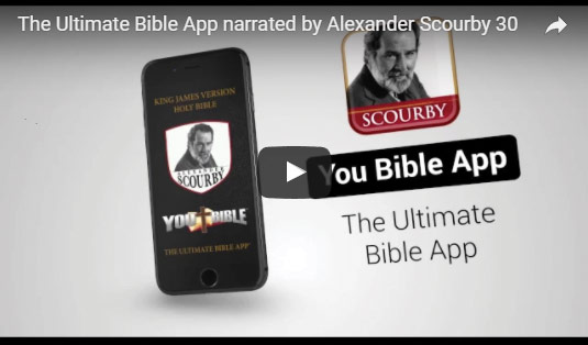 youtube bible app video