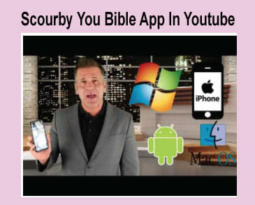 Scourby You Bible Bible App in Youtube