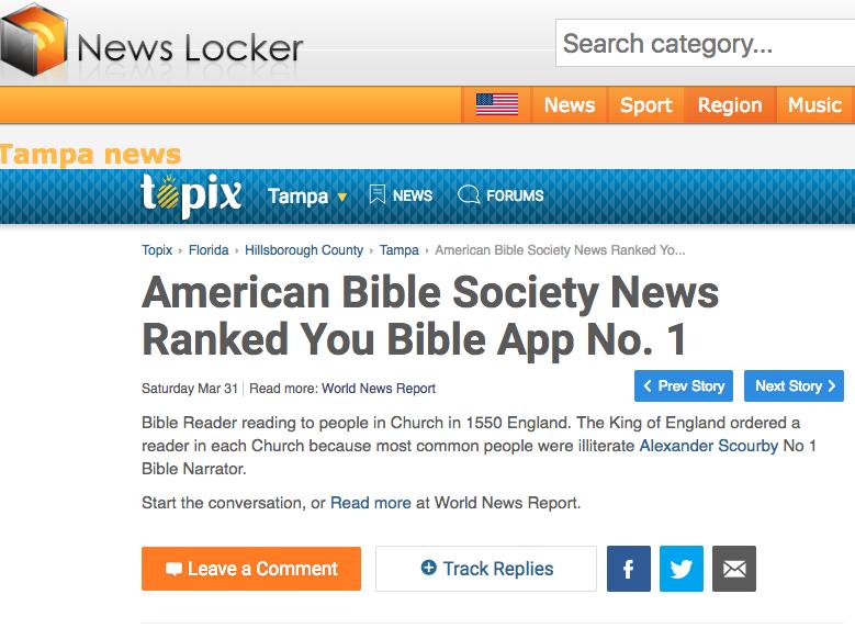 Bible App Blog - You Bible App