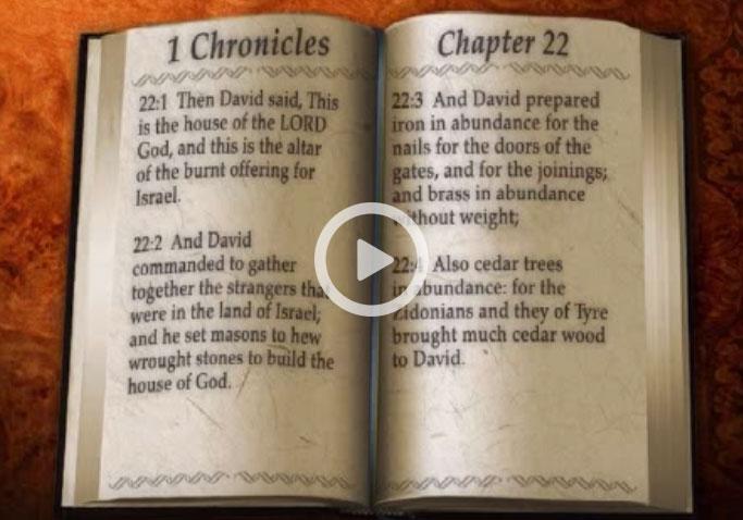 Bible Verse 1 Chronicles 22 - You Bible App