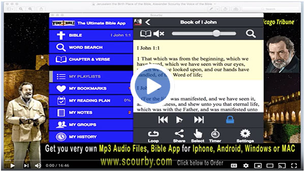 Bible App Playlists Books of KJV - You Bible App