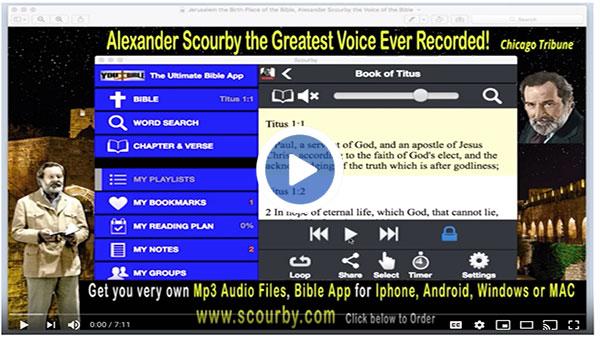 Bible App Playlists Books of KJV - You Bible App